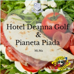 The piadina on holiday can not miss